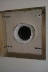 Dodatečná montáž průchodu kouřovodu v dřevostavbě